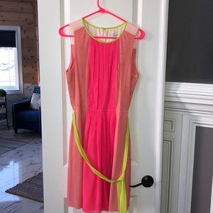 Like New Loft Block color dress.